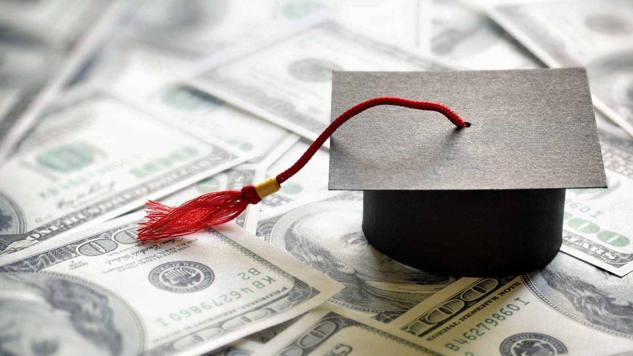 Graduation on top of money