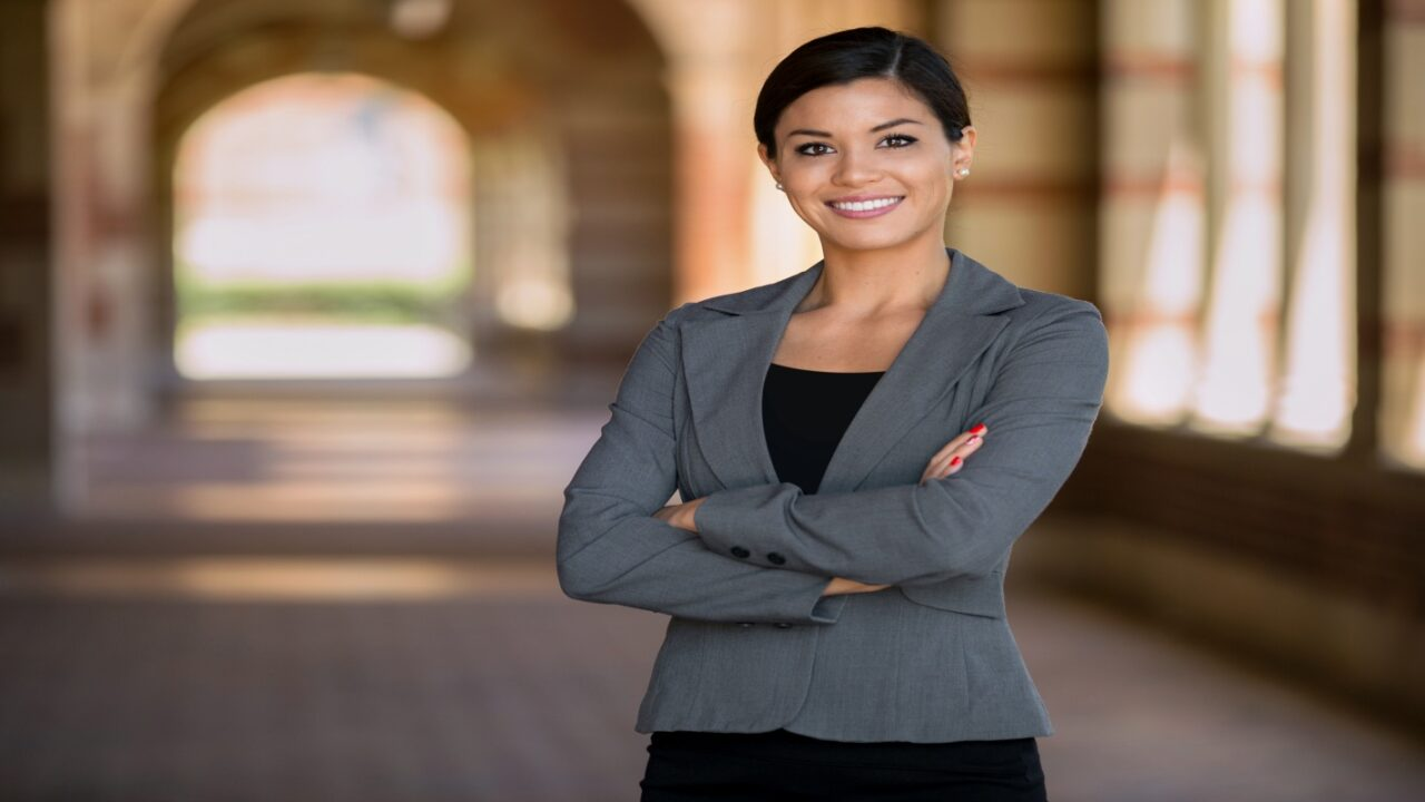 Female divorce attorney