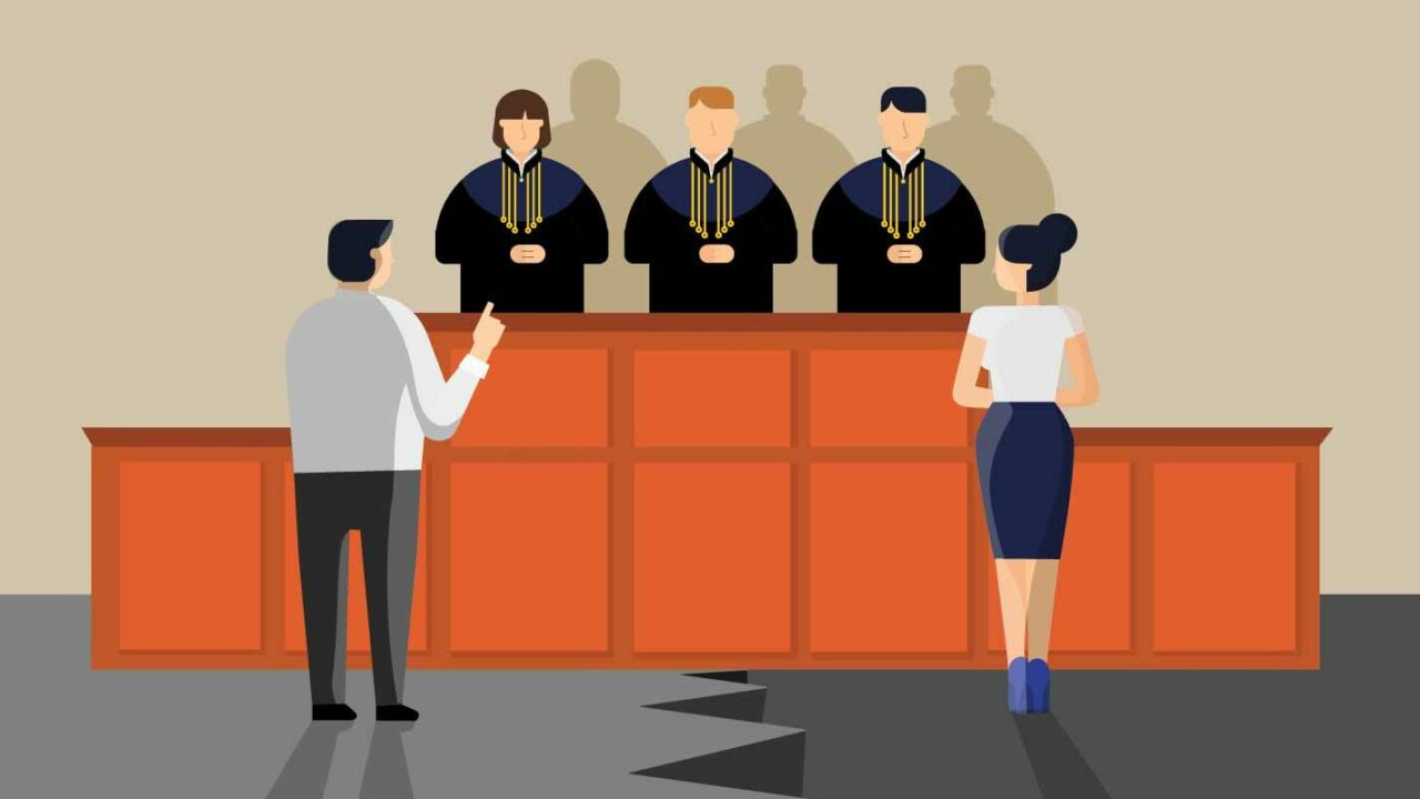 Man getting unfair treatment in a Maryland family law court