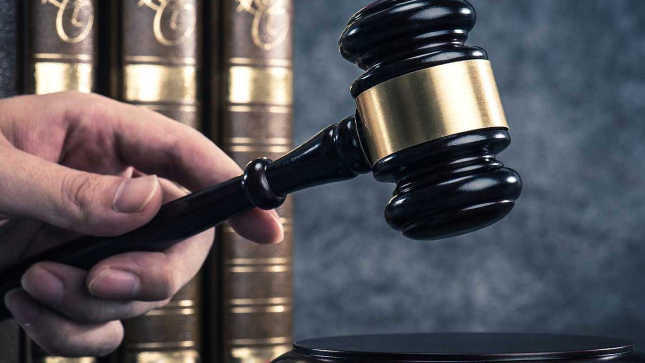 Judge making a decision on a Maryland divorce appeal