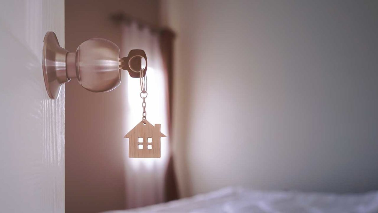 Keys to a home purchased during COVID-19