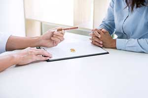 Divorce attorney determining the validity of the marriage