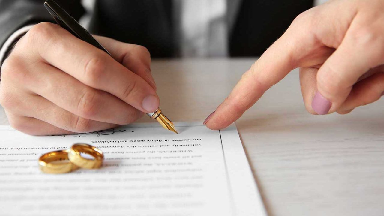 Man learning how to file for divorce in Maryland