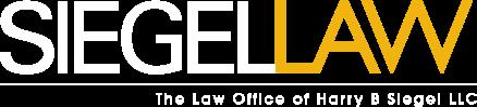 SIEGELLAW Logo white