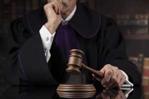 Judge determining alimony amount
