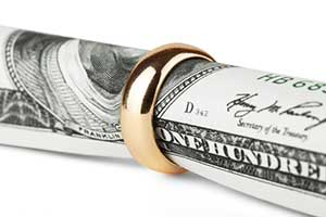 Cash for alimony in Howard County